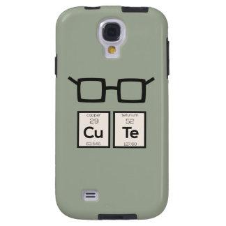 Capa Galaxy S4 Vidros bonitos Zwp34 do nerd do elemento químico