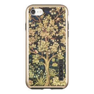 Capa Incipio DualPro Shine Para iPhone 8/7 Árvore de William Morris do Pre-Raphaelite do