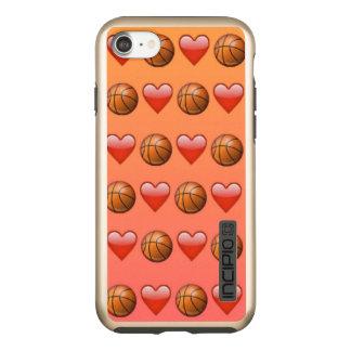 Capa Incipio DualPro Shine Para iPhone 8/7 Basquetebol Emoji