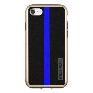 Capa Incipio DualPro Shine Para iPhone 8/7 Blue Line fino simbólico sobre