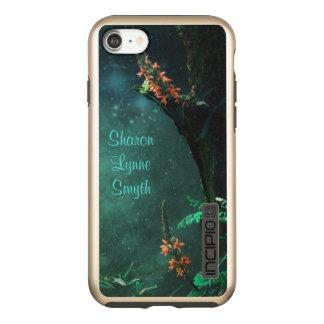 Capa Incipio DualPro Shine Para iPhone 8/7 Flores feericamente no *Personalize* do luar do