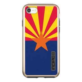 Capa Incipio DualPro Shine Para iPhone 8/7 Gráfico dinâmico da bandeira do estado da arizona