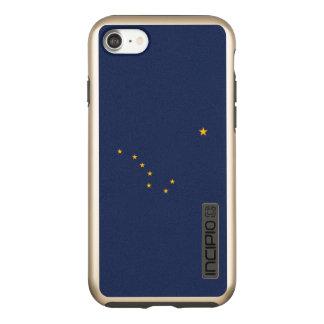 Capa Incipio DualPro Shine Para iPhone 8/7 Gráfico dinâmico da bandeira do estado de Alaska