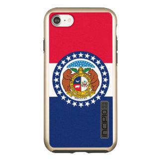 Capa Incipio DualPro Shine Para iPhone 8/7 Gráfico dinâmico da bandeira do estado de Missouri
