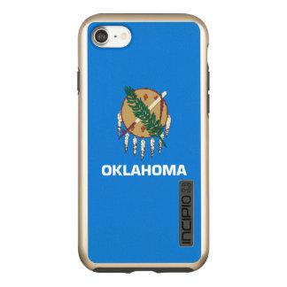 Capa Incipio DualPro Shine Para iPhone 8/7 Gráfico dinâmico da bandeira do estado de Oklahoma