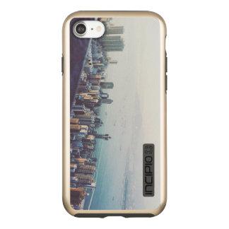Capa Incipio DualPro Shine Para iPhone 8/7 Hong Kong de cima de