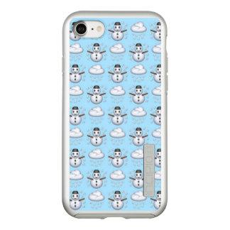 Capa Incipio DualPro Shine Para iPhone 8/7 iPhone 7 Incipio de Emoji do boneco de neve