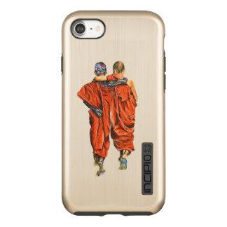 Capa Incipio DualPro Shine Para iPhone 8/7 Monges budistas