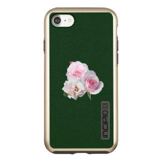 Capa Incipio DualPro Shine Para iPhone 8/7 Três rosas cor-de-rosa