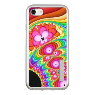 Capa Incipio DualPro Shine Para iPhone 8/7 Viagem Groovy do Fractal