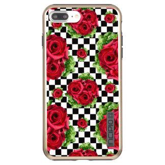 Capa Incipio DualPro Shine Para iPhone 8 Plus/7 Pl Amor floral do buquê das rosas vermelhas