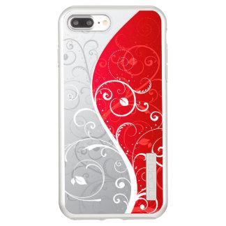 Capa Incipio DualPro Shine Para iPhone 8 Plus/7 Pl brilho positivo de DualPro do iPhone 7, prata