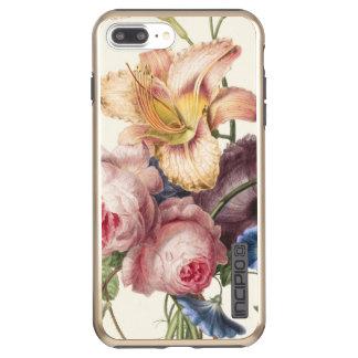 Capa Incipio DualPro Shine Para iPhone 8 Plus/7 Pl Buquê do vintage