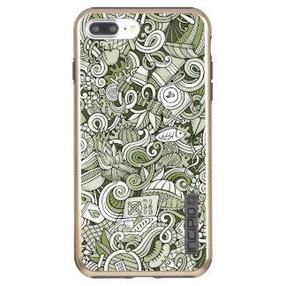 "Capa Incipio DualPro Shine Para iPhone 8 Plus/7 Pl Caso do brilho de DualPro do iPhone de ""Bamberga"""