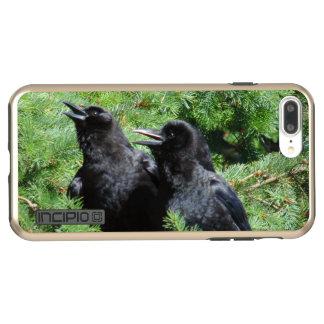 Capa Incipio DualPro Shine Para iPhone 8 Plus/7 Pl Dois corvos