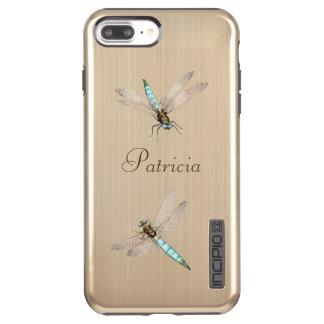 Capa Incipio DualPro Shine Para iPhone 8 Plus/7 Pl Dois libélulas e nomes iridescentes