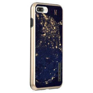 Capa Incipio DualPro Shine Para iPhone 8 Plus/7 Pl Estilo bonito Sparkling da forma dos começos do