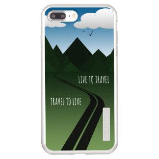 Capa Incipio DualPro Shine Para iPhone 8 Plus/7 Pl Estrada da montanha