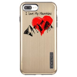 Capa Incipio DualPro Shine Para iPhone 8 Plus/7 Pl Eu amo minhas montanhas!