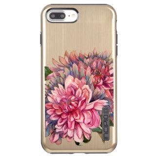 Capa Incipio DualPro Shine Para iPhone 8 Plus/7 Pl flores das dálias