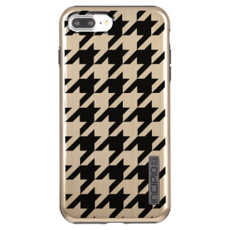 Capa Incipio DualPro Shine Para iPhone 8 Plus/7 Pl iPhone de Houndstooth 8 Plus/7 mais o brilho de