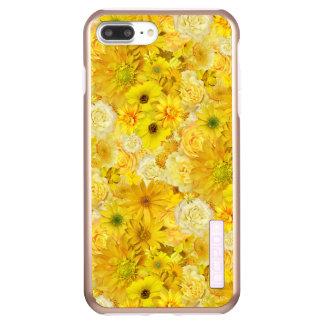 Capa Incipio DualPro Shine Para iPhone 8 Plus/7 Pl Margarida do Gerbera do buquê da amizade do rosa