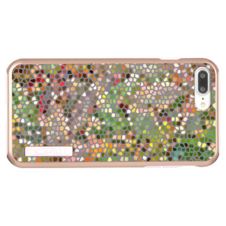 CAPA INCIPIO DualPro SHINE PARA iPhone 8 PLUS/7 PL MOSAICO LOOK/PHOTOG. /DIG. MANIP. /MULTI-COLORED