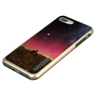 Capa Incipio DualPro Shine Para iPhone 8 Plus/7 Pl Nunca perca sua maravilha Fractalscape
