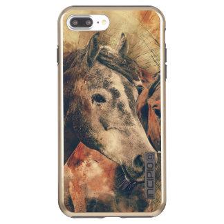 Capa Incipio DualPro Shine Para iPhone 8 Plus/7 Pl O cavalo rústico