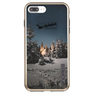 Capa Incipio DualPro Shine Para iPhone 8 Plus/7 Pl O papai noel abençoa-o esta alegria do amor da