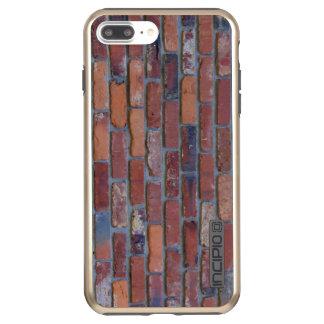 Capa Incipio DualPro Shine Para iPhone 8 Plus/7 Pl Parede de tijolo - tijolos e almofariz misturados