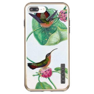 Capa Incipio DualPro Shine Para iPhone 8 Plus/7 Pl Pássaros do amor do colibri