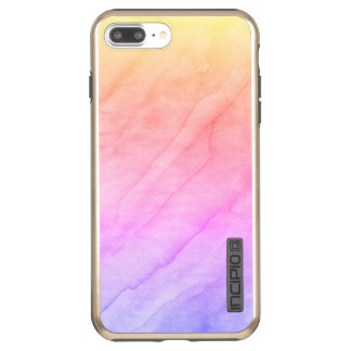 Capa Incipio DualPro Shine Para iPhone 8 Plus/7 Pl Pedra da aguarela de Shell da madrepérola