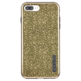 Capa Incipio DualPro Shine Para iPhone 8 Plus/7 Pl Verde ocidental da couve do impressão dos EUA do