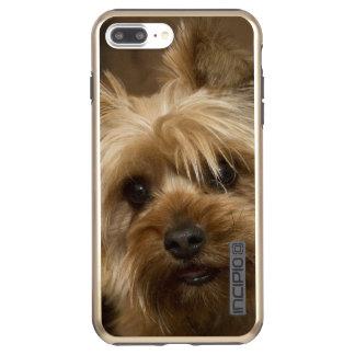 Capa Incipio DualPro Shine Para iPhone 8 Plus/7 Pl Yorkshire terrier lindo
