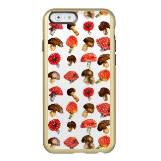 Capa Incipio Feather® Shine Para iPhone 6 A aguarela cresce rapidamente teste padrão bonito