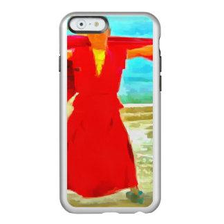 Capa Incipio Feather® Shine Para iPhone 6 A monge super do ajustado no vermelho
