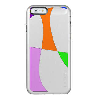 Capa Incipio Feather® Shine Para iPhone 6 Balões coloridos abstratos