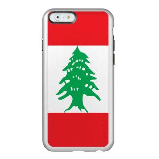 Capa Incipio Feather® Shine Para iPhone 6 Bandeira de Líbano