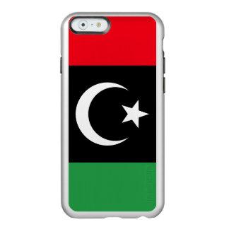Capa Incipio Feather® Shine Para iPhone 6 Bandeira de Líbia