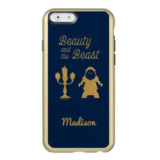 Capa Incipio Feather® Shine Para iPhone 6 Belle | Lumiere e Cogsworth