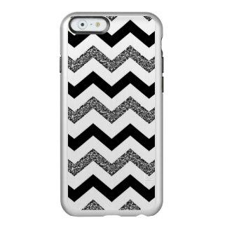 Capa Incipio Feather® Shine Para iPhone 6 Brilho branco Chevron