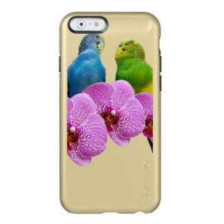 Capa Incipio Feather® Shine Para iPhone 6 Budgie com orquídea roxa