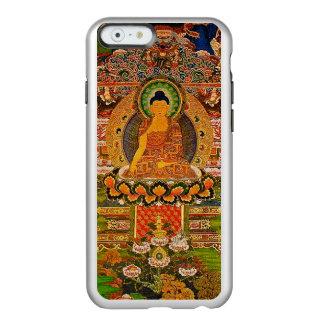 Capa Incipio Feather® Shine Para iPhone 6 Budismo budista de Buddha que abençoa o Bohemian