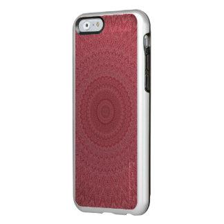 Capa Incipio Feather® Shine Para iPhone 6 Caleidoscópio vermelho