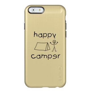 Capa Incipio Feather® Shine Para iPhone 6 Campista feliz (preto)