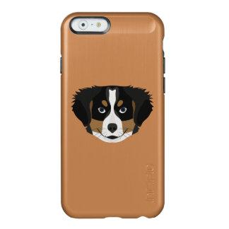Capa Incipio Feather® Shine Para iPhone 6 Cão de montanha de Bernese da ilustração