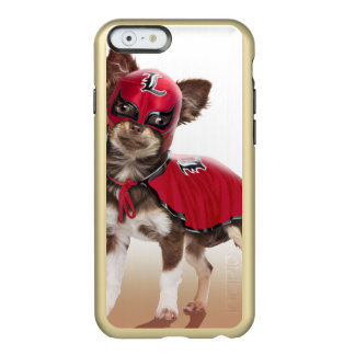 Capa Incipio Feather® Shine Para iPhone 6 Cão do libre de Lucha, chihuahua engraçada,