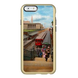 Capa Incipio Feather® Shine Para iPhone 6 Cidade - Chicago - a estação 1907 da rua de Van