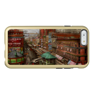 Capa Incipio Feather® Shine Para iPhone 6 Cidade - Chicago - fileira 1907 do piano